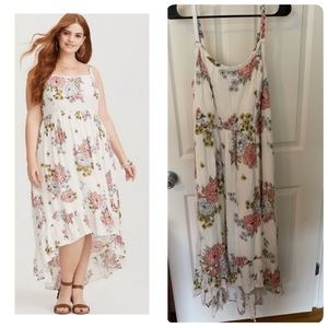 🥳Torrid high and low dress size 1